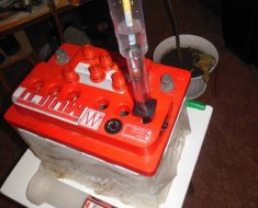 Диагностика плотности раствора электролита ареометром