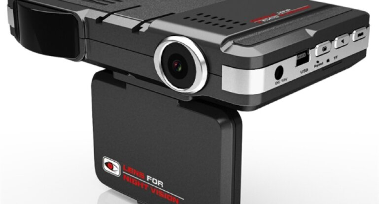 Видеорегистратор 3в1 с gps антирадаром навигатором