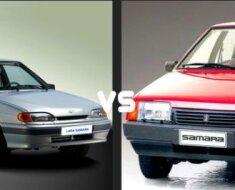 Отличия передней части моделей 21099 и 2115