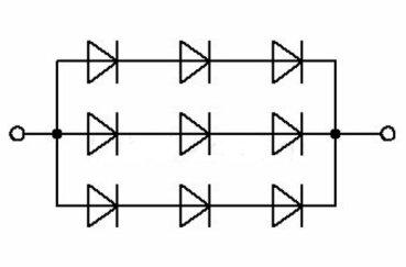 Параллельное соединение диодов