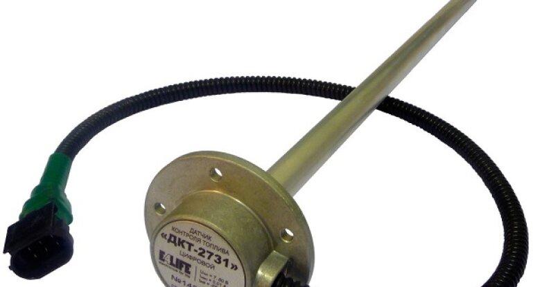 Схема подключения датчика топлива