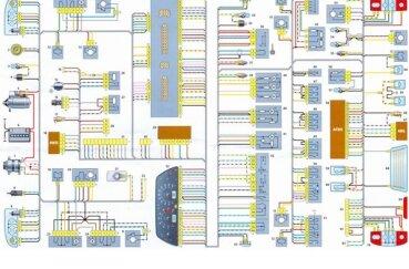 Электросхема Нивы 2123