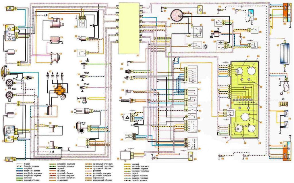 Схема оборудования «Семерки»