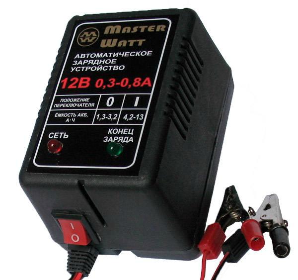 Умное АЗУ для автомобильной АКБ Master Watt