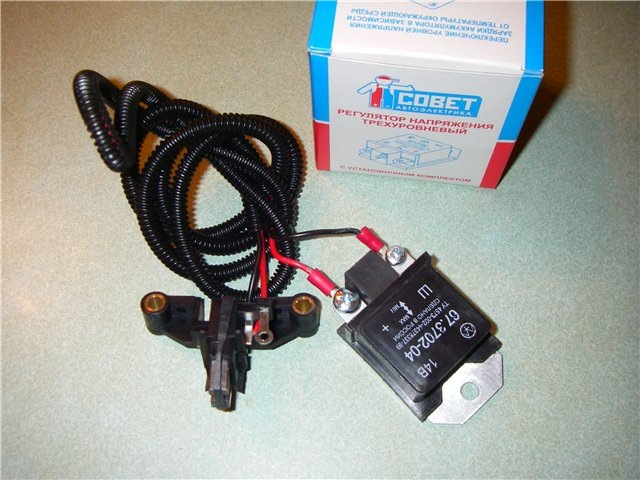 9efd218s 960 - Трехуровневый регулятор напряжения на генератор