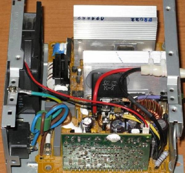 Самодельное ЗУ из компьютерного БП