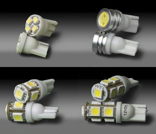 Светодиоды с разными цоколями
