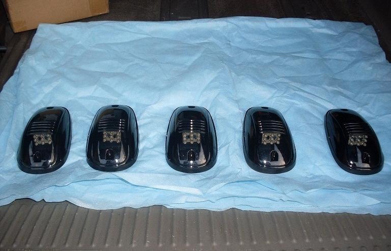 Пять дополнительных фар для авто